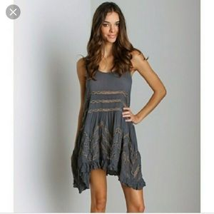 VGUC Free People Trapeze Slip Dress